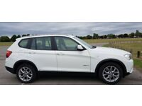 BMW X3 2.0 XDrive 20d SE 5dr. Diesel. Manual. White. Beige Leather. Dashcam+RearCam