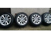 17 inch 5x120 genuine BMW 5 series F10 alloys wheels