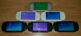 Sony PSP consoles full of Nintendo, Sega and loads of retro games