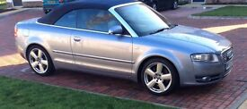 Audi A4 2.0T sline convertible low miles