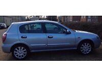 NISSAN ALMERA SE 2005 5DR Hatchback Manual 1.5L Petrol £1390 ONO