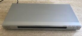 Silver Sony CD/DVD player