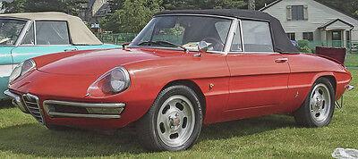 Zeitlos schöne Linie mit wenig Schnörkeln: der Alfa Romeo Spider