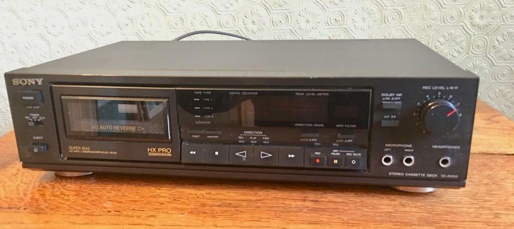 Sony TC-RX55 stereo cassette deck