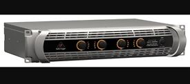 Behringer 4x1500 - 6KW Class D amp, hardly used