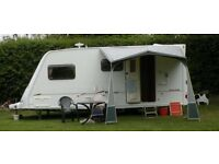 Fleetwood Colchester 520EB fully equiped inside & out suit a first time caravaner