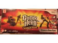 Guitar hero world tour complete band in box