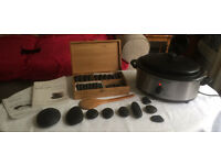 Complete Hot Stone Massage Equipment - professional