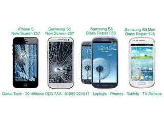 Special offer on samsung galaxy s3 and iphone 5 screen replacement genio tech hilltown