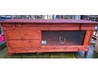 Rabbit hutch only 3 months old