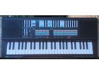 Yamaha PSS-570 Electric Portable Portasound PCM Rhythm Stereo Keyboard Piano 1980's