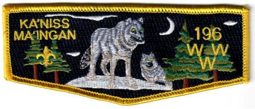 Order of the Arrow (OA) Flap Lodge 196 Ka
