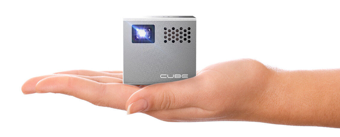 rif6 cube mini hd projector - ... Image 1