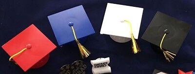 Graduation Cake Topper (Decopac Layon Graduation Cap with Tassels Cake & Cupcake Topper)