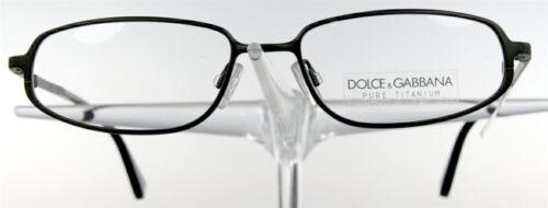 DOLCE GABBANA 222 Brille Brillengestell Braun Titan Titanium Damen Herren NEU