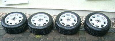 4 Original Felgen Mercedes Benz SLR 129/Dunlop Reifen Sport 2000, top!!!!