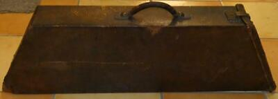 RARE OLD VIOLIN? CASE AESTHETIC DECORATION LATE 1800s EMBOSSED FANS + BAMBOO