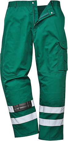 PortWest Men Iona Safety Combat Trouser Reg//Tall Various Color and Size S917