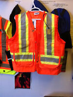 safety vests and coveralls