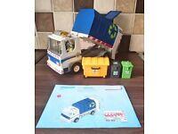 The Original Playmobil dustbin Lorry