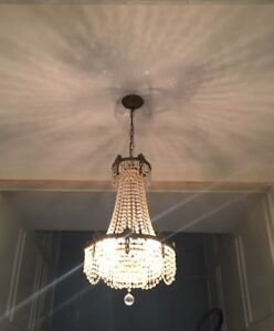 Chandelier Crystal Dining Room | Buy or Sell Indoor Home Items in ...