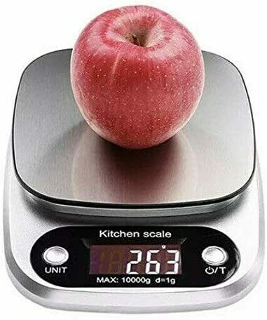 Kitchen Food Scale for Cooking Baking Diets, 22lbs Capacity