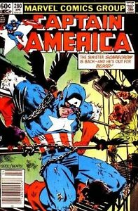 CAPTAIN AMERICA COMIC BOOK 280 NM