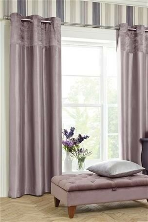 mauve plain curtains poundstretcher eyelet faux silk