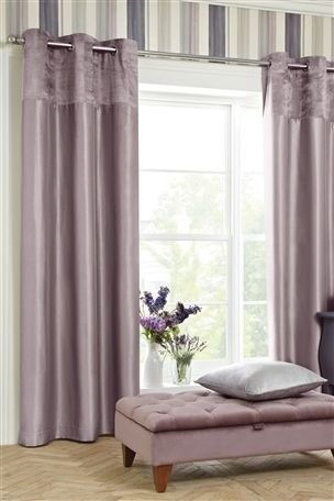 Brand New Extra Wide Purple Curtains From Next 228 By 229cm Antrim