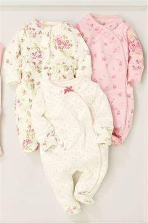 Next Baby Sleepsuits Ebay