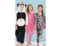 NEW NEXT Older Girls Onesie / Pyjamas Panda Age: 10 Years rrp £10