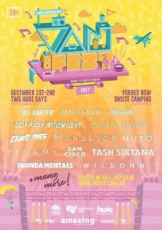 2 x VANSFEST 2 DAY PASSES