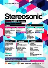 STEREO TIX FOR SALE NEED GONE ASAP! Sydney City Inner Sydney Preview