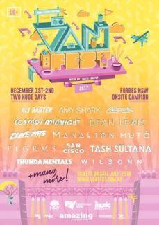 4x Van Fest Tickets