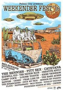 Weekender Fest 2016 tickets!! Cardiff Heights Lake Macquarie Area Preview