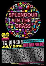 Selling 3 x Splendour in the grass 3 day tickets + camping Sydney City Inner Sydney Preview