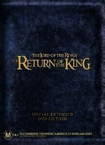 The Lord Of The Rings - The Return of The King (DVD, 2004, 4-Disc Set)