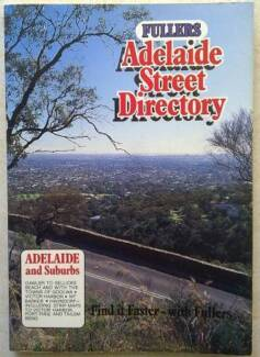 STREET DIRECTORY 1983 EDITION FULLERS ADELAIDE