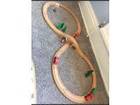 Brio / compatible wooden train set