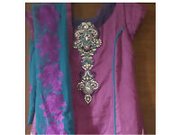 Shalwar kameez Bollywood Indian suit