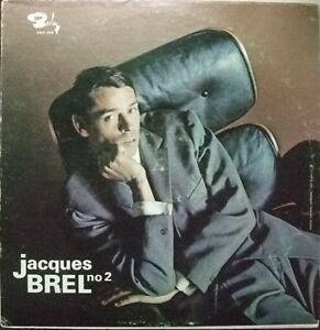 Jacques Brel ‎– No 2 **Tres Rare**