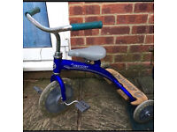 Lil' Giant tricycle in blue/silver