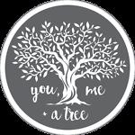 you, me + a tree