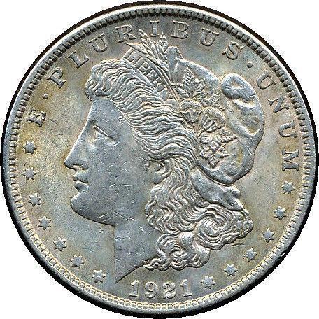 1921 Morgan Silver Dollar Uncirculated Ebay