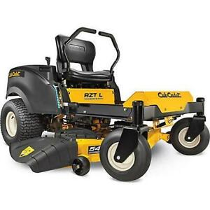 Cub Cadet RZTL54 Zero Turn Winter Sale!! Save BIG and buy early this year!  Avoid the TARIFFS!!
