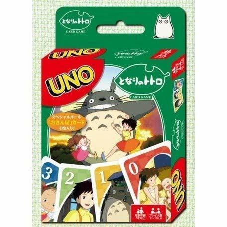 UNO My Neighbor Totoro Playing Cards Game Studio Ghibli