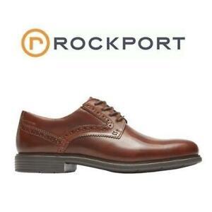 NEW ROCKPORT DRESS SHOES MENS 12 CG7227 243275898 Total Motion Classic Plain Toe