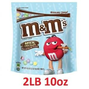 NEW MM'S EASTER MILK CHOCOLATE BAG 212928922 CANDY PARTY SIZE FOOD SNACK SWEETS 2LB 10oz 42oz