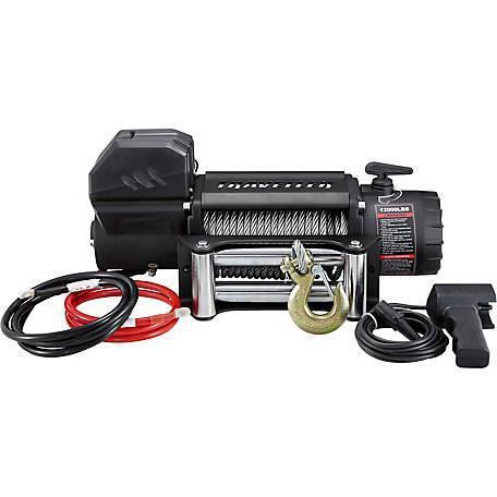 Traveller 1292505 12000 LB Truck Winch Steel Cable (DJL)