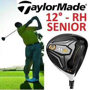 NEW TAYLORMADE M2 GOLF DRIVER RH 12° DEGREE - RIGHT HANDED - FUJIKURA PRO LIGHT SENIOR FLEX - GOLF CLUB - GOLFING
